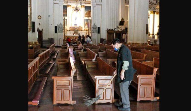 Ingresos de las iglesias ha caído hasta un 80% ante COVID-19
