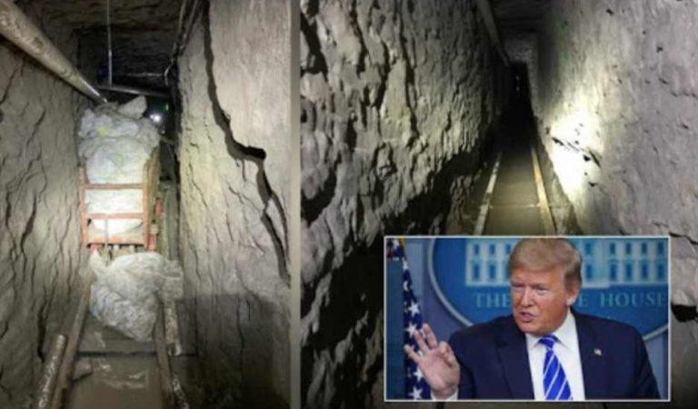 México debe controlar a narcotraficantes que construyen túneles transfronterizos: Trump