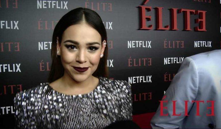 Netflix despide a Danna Paola de Élite