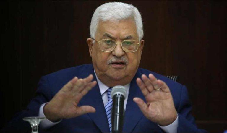 Palestina se retira de todos los acuerdos con Israel y EU