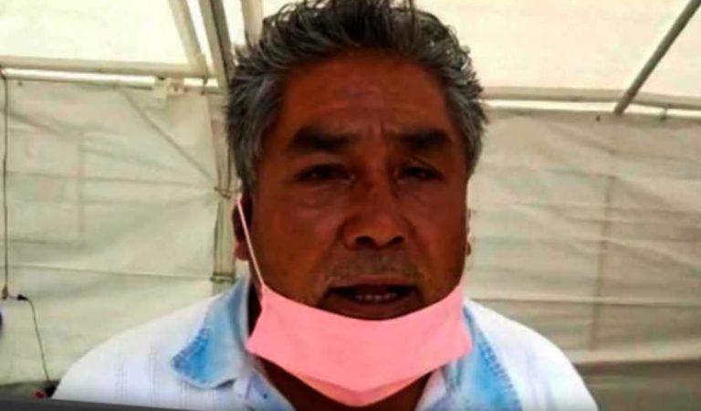 'Perdí a 3 familiares por covid-19, no quiero otro más': hermano de reo infectado en hospital de Puebla