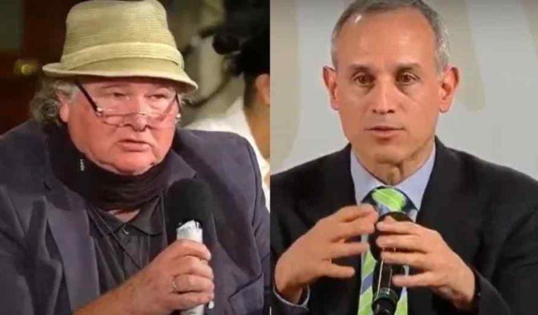 Reportero de Los Angeles Times intenta increpar a López Gatell (video)