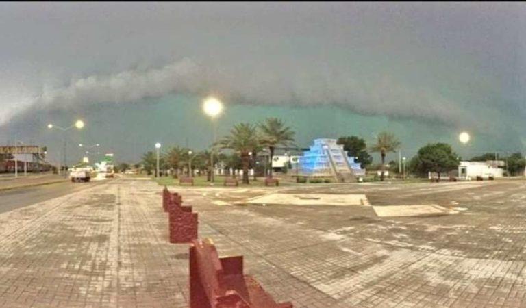 Fuerte tormenta con granizo, deja inundaciones y daños materiales en Piedra Negras