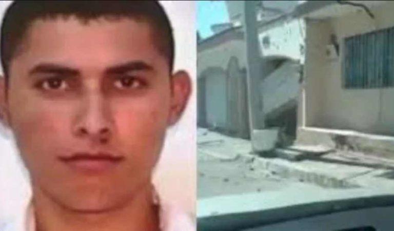 Reventada y llena de agujeros, así quedó la casa del 'Chino Antrax' tras su ejecución | VIDEO