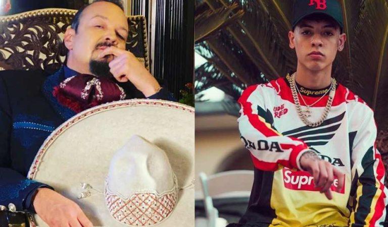 Natanael Cano ofrece  disculpas a Pepe Aguilar (video)