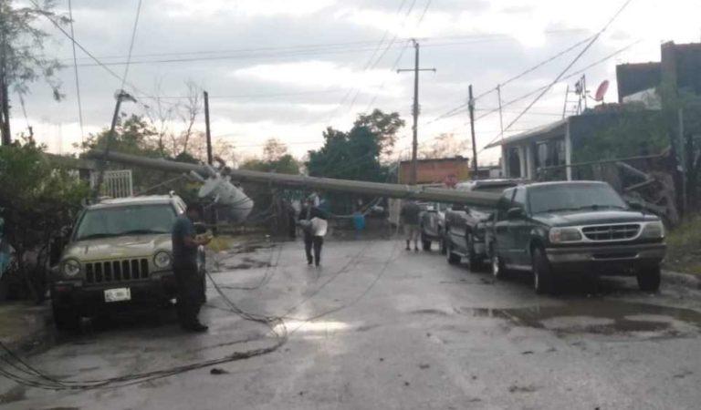 Tromba y granizada en Nuevo Laredo causa severas afectaciones   FOTOS Y VIDEOS