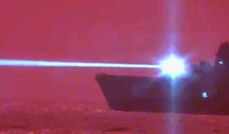 EU prueba con éxito arma láser que puede destruir drones en pleno vuelo|video