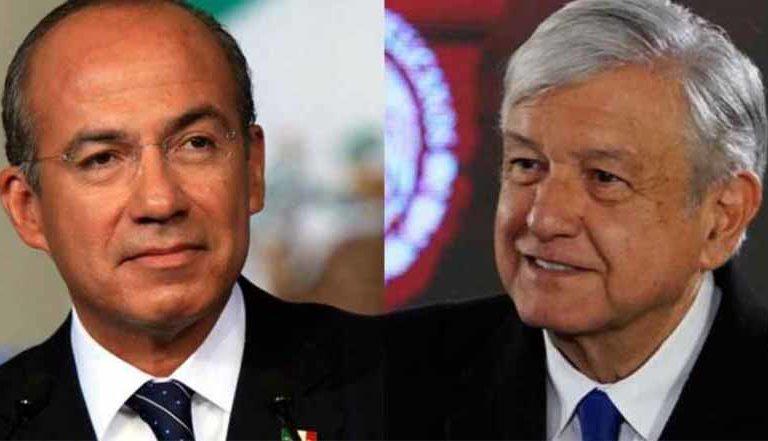 Felipe Calderón responde enojado y dice que AMLO le 'hace los mandados'