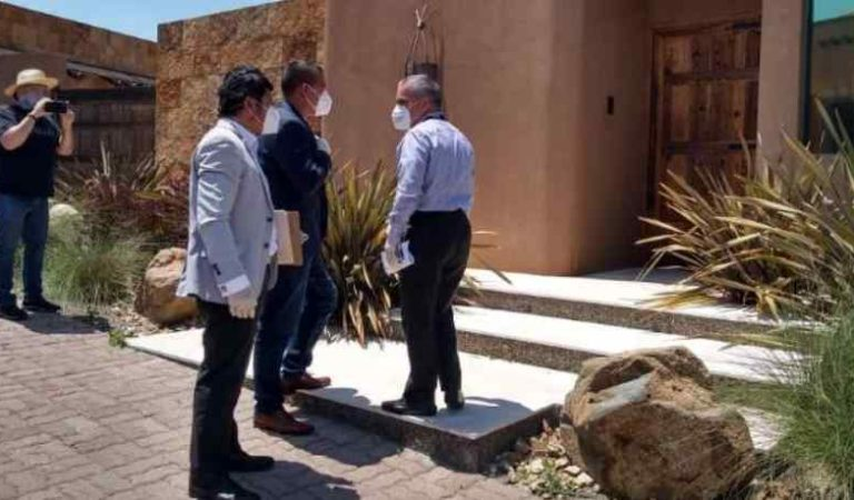 Catean casa del exgobernador de Baja California 'Kiko' Vega (video)