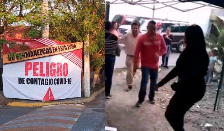 Tras Covid Fest en Naucalpan, hay 9 familias infectadas de Coronavirus
