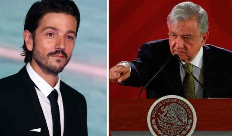 'Aterrador': Diego luna acusa a AMLO de militarizar el país; en redes lo tunden
