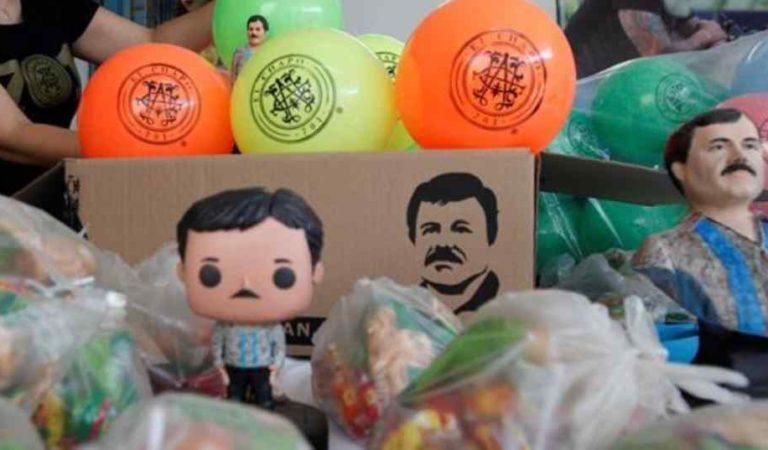 En plena pandemia hija del Chapo regala juguetes a niños