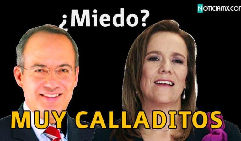 Felipe Calderón y Margarita muy calladitos, luego de revelaciones de ex embajadora de EU sobre García Luna