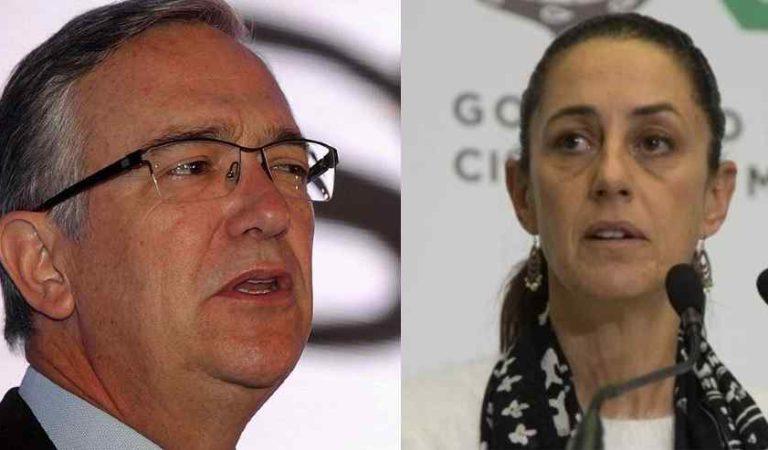 Así responde Claudia Sheinbaum a Ricardo salinas Pliego