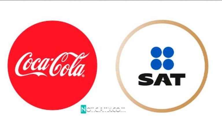 Coca Cola reportó que perdió miles de millones de pesos por pagar sus impuestos al SAT