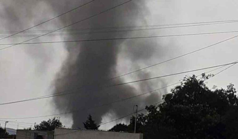 Tornado sorprende a habitantes en Perote, Veracruz |VIDEO e IMÁGENES