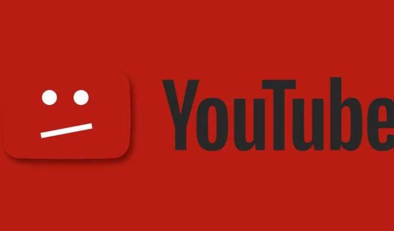 Youtube se cae; usuarios reportan falla