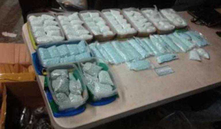 Ejército mexicano asegura drogas con valor superior a los 740 millones de pesos en Tijuana
