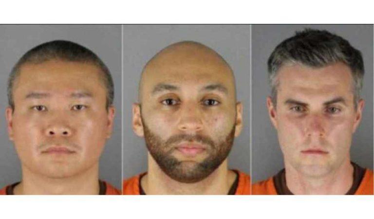 Establecen fianza de 1 mdd a los 3 policías implicados en el asesinato de George Floyd
