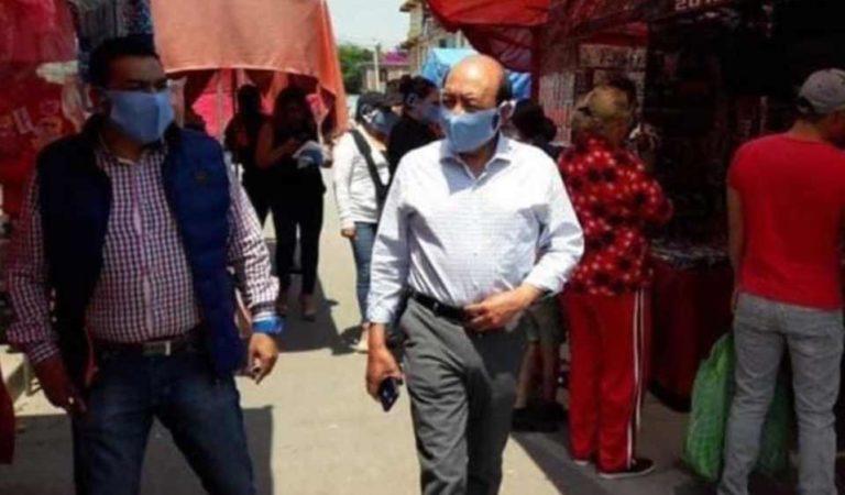 Fallece por coronavirus Sergio Anguiano, presidente municipal de Coyotepec