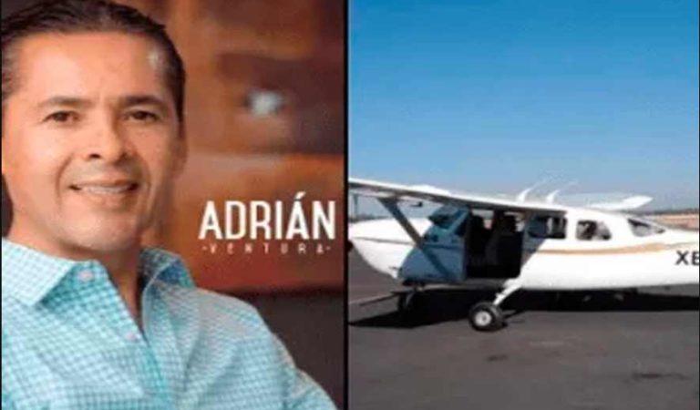 Muere exalcalde de Aguascalientes en accidente aéreo; confirma Gobernador