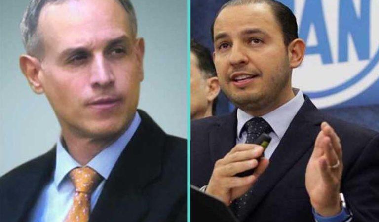 PAN denuncia ante la FGR a López Gatell por 'negligencia criminal'