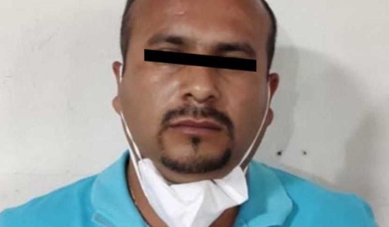 Detienen a alcalde de Zacualpan, por homicidio calificado