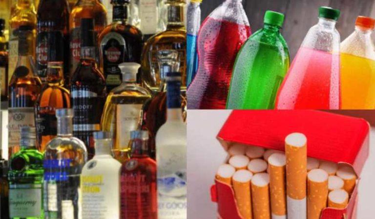 Morena propone aumentar un peso de impuesto al alcohol, cigarros y refresco