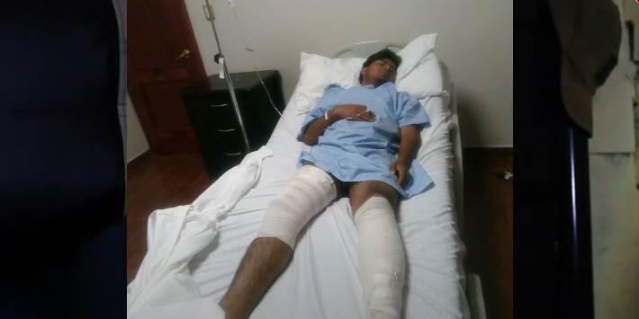 Policías fracturan ambas piernas a joven; no ha vuelto a caminar en Oaxaca