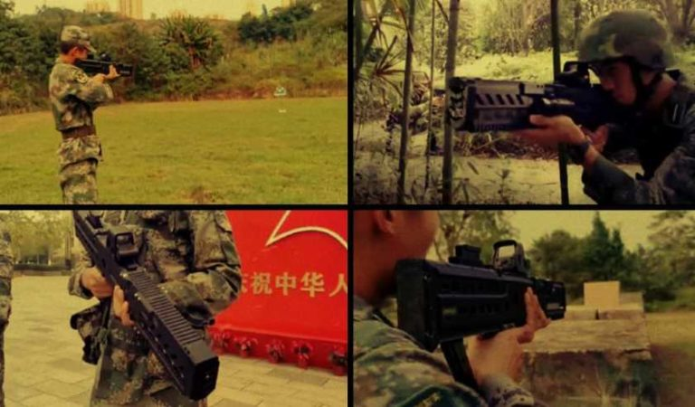 Ejército de China presenta fusil electromagnético que perfora el acero