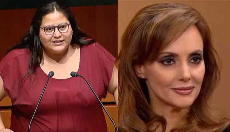 Tras integrarse a la bancada del PAN, Citlalli Hernández desea suerte a Lilly Téllez