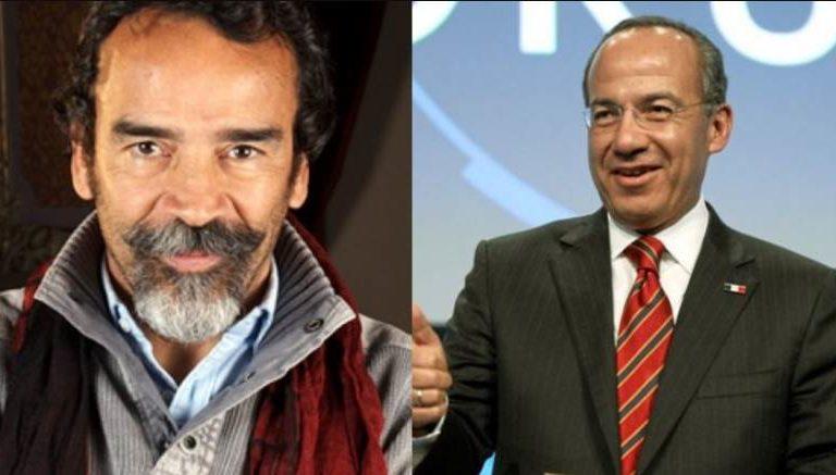 Damián Alcázar y Felipe Calderón discuten por desaparición de fideicomiso al cine