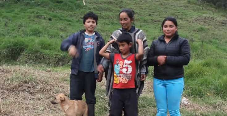 Familia campesina se vuelve youtuber y causa sensación en Internet