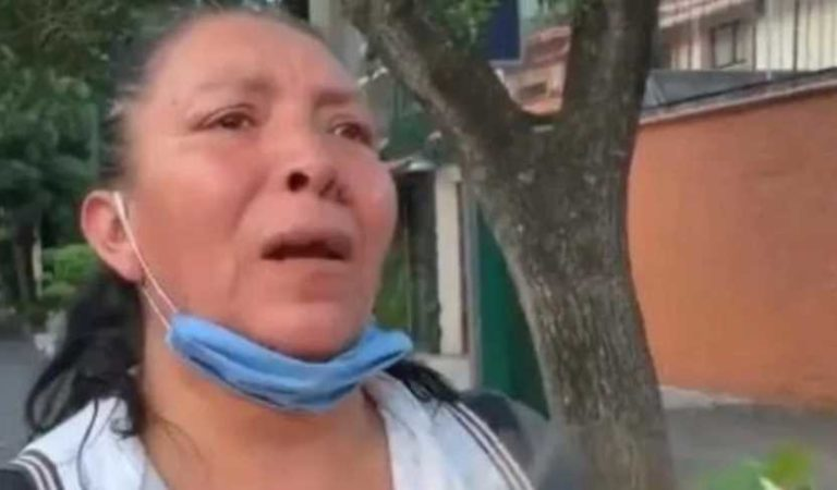 Vendedora de flores pide ayuda a AMLO; denuncia robo, humillación y maltrato de policía