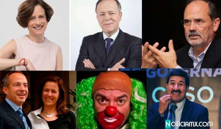Corral, Calderón, Zavala, El Universal, Brozo, Dresser… se deslindan del BOA; pero las pruebas los delatan