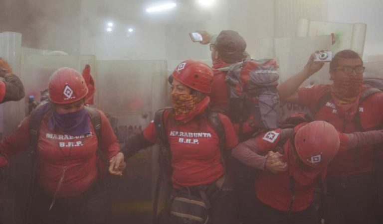 Rechazan ataques de TV Azteca contra Marabunta