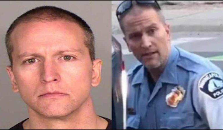 El es Derek Chauvin… el policía que mató a George Floyd; fue ingresado a un penal de máxima seguridad