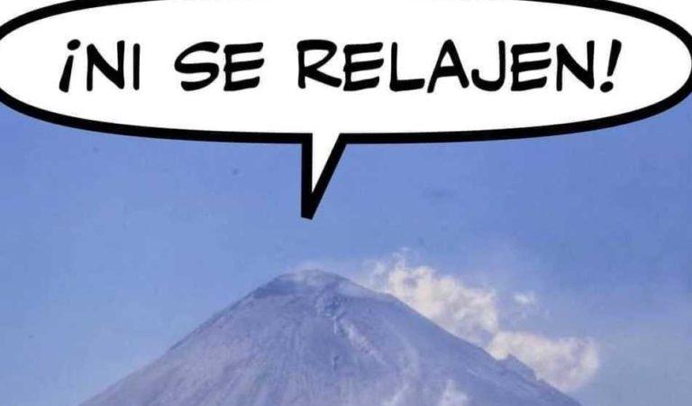 Popocatépetl: los memes apocalípticos tras sismo