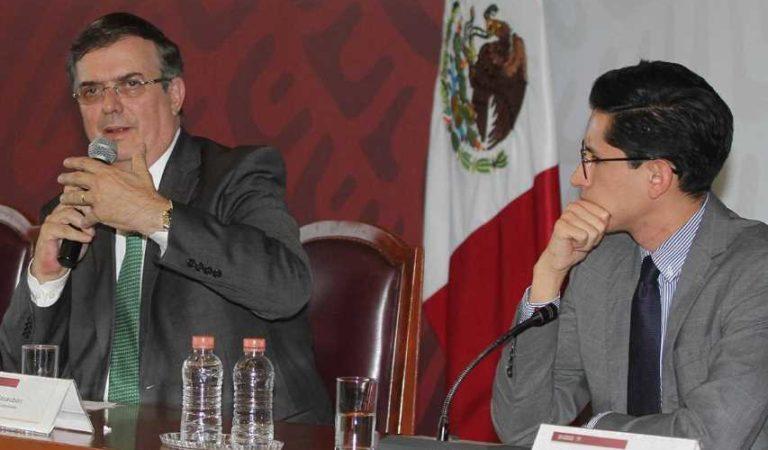 Ebrard nombra a Roberto Velasco como director para América del Norte