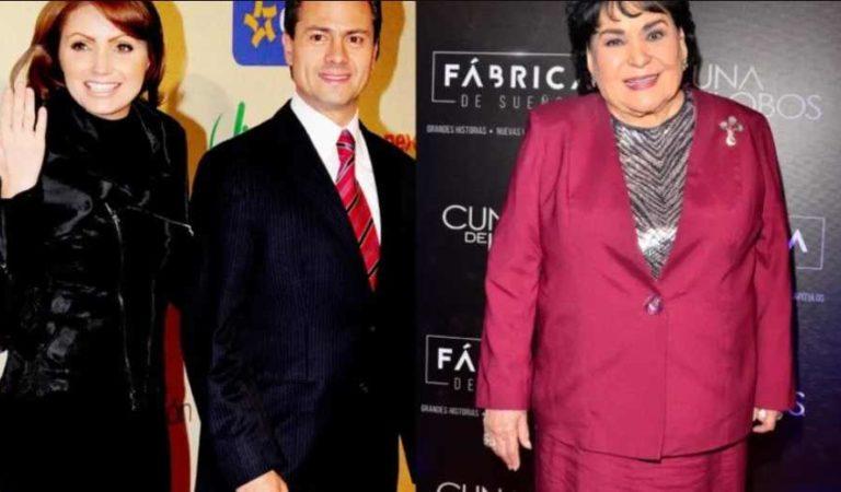 Carmen Salinas dice que Peña nieto 'fue un gran error' para Angélica Rivera