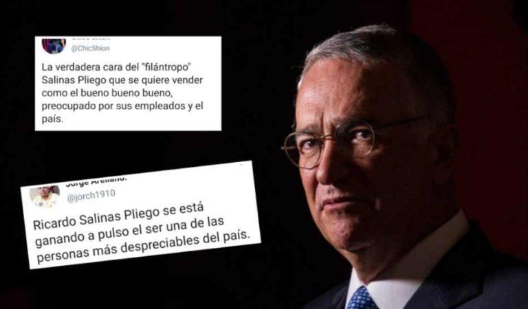 Ciudadanos piden que Salinas Pliego pague por humillar a mujer y menospreciar a empleados