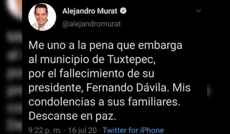 Fallece por Covid presidente de Tuxtepec, Oaxaca; 'no estaba muy grave'