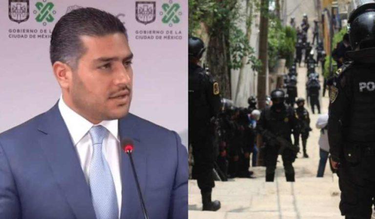 Fuerte operativo a narcomenudistas en Xochimilco; detienen a 14 personas