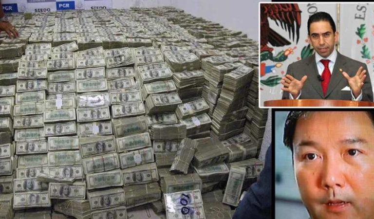 Gobierno de AMLO no halló rastro de los 205 millones de dólares que Calderón decomisó a Zhenli Ye Gon