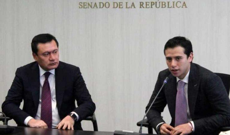 Hijo de Osorio Chong se ampara tras investigaciones de la SFP