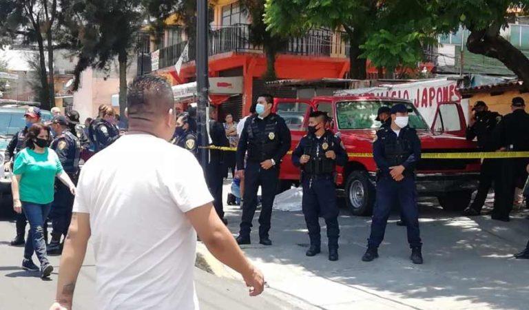 Hombre asesina a padre e hijo en la Álvaro Obregón; ya fue detenido
