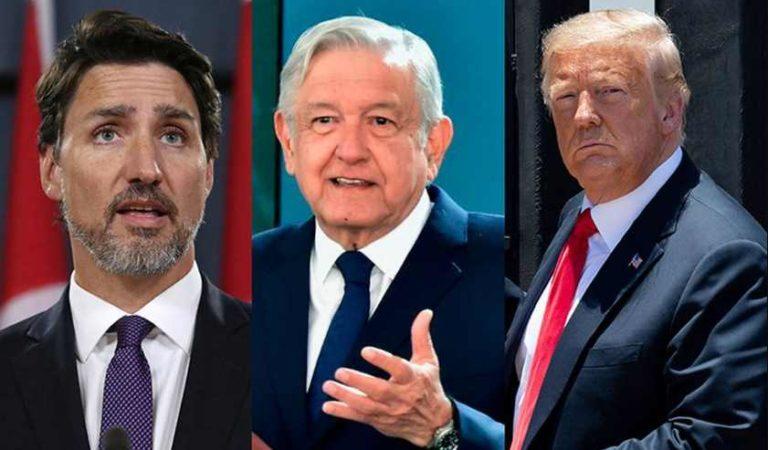 Justin Trudeau no asistirá a reunión en Washington con Trump: AMLO