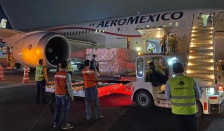 Llegará a México vuelo de China número 24 con insumos para combatir Covid-19
