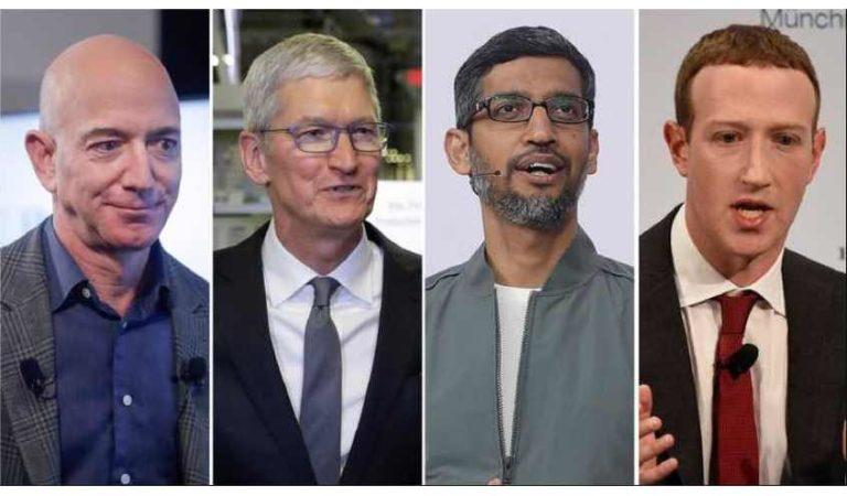 Los líderes tecnológicos más importantes del mundo testifican ante el Congreso para defender su modelo de negocios
