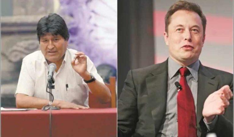 Musk desata polémica asegurando que dará un golpe de estado a quien le dé la gana y Evo Morales le responde